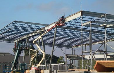 Coastline structural steel projects
